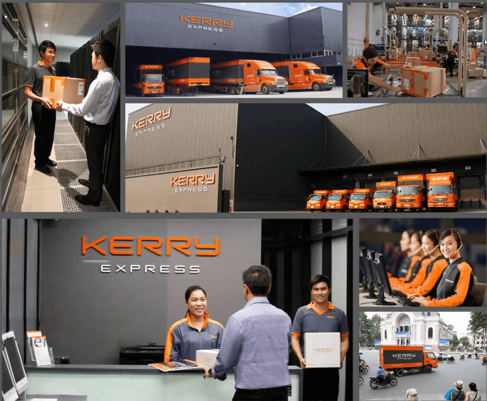 dịch vụ giao hàng Kerry TTC Express