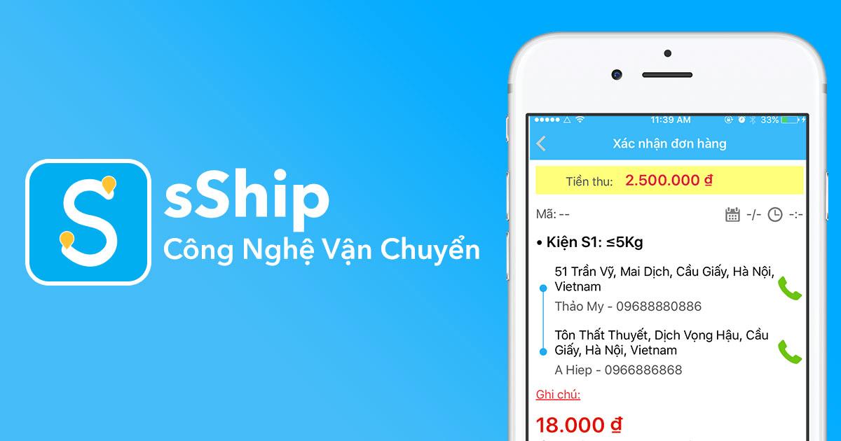 dịch vụ giao hàng sShip