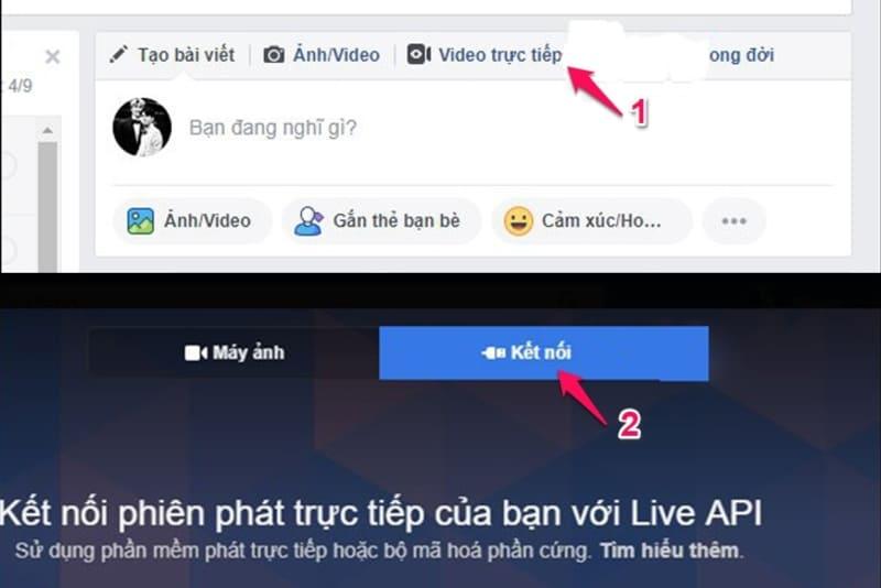 cách livestream trên facebook bằng phần mềm obs