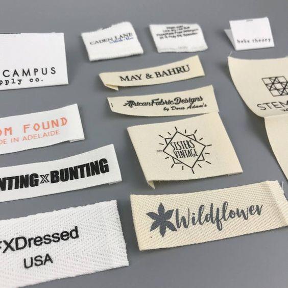 các loại tem nhãn mác quần áo