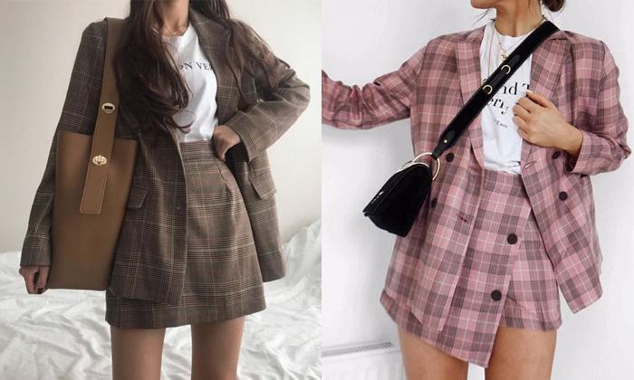 8 mẫu áo vest nữ phong cách