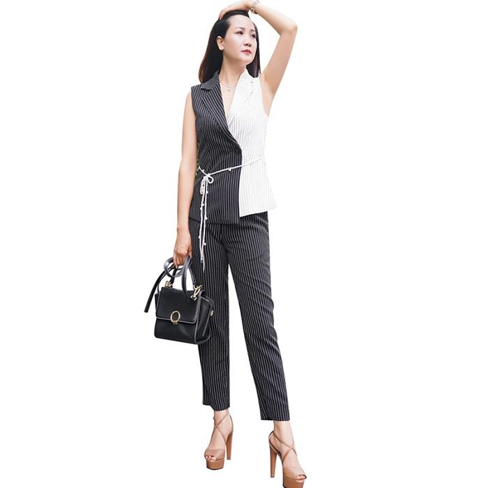 8 mẫu áo vest nữ hiện đại
