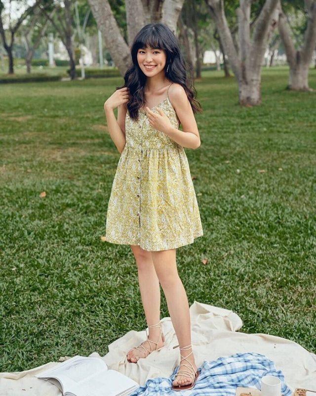 7 mẫu đầm babydoll công chúa